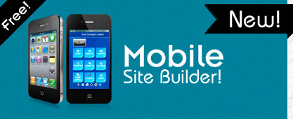 new mobile site builder